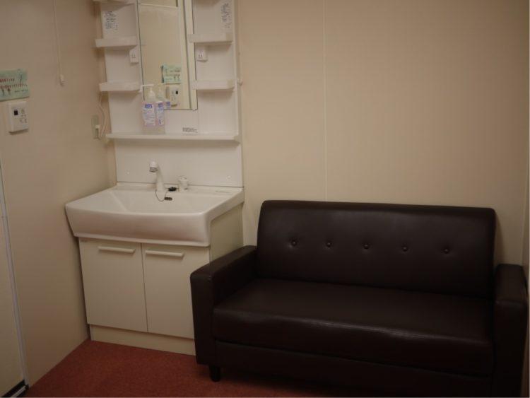 子育てプラザ 本庄東の授乳室