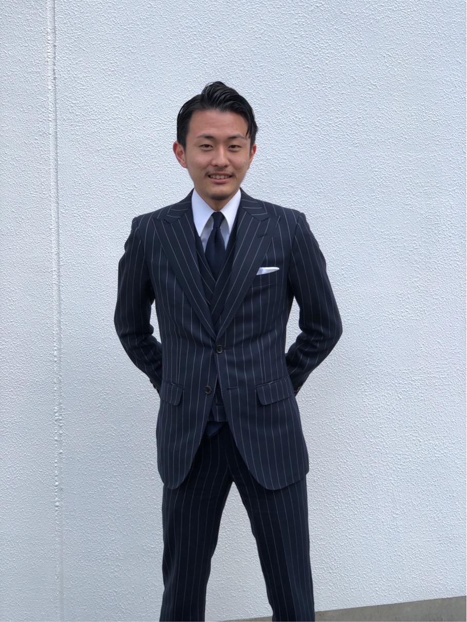 エフワン入社式の大嶋氏