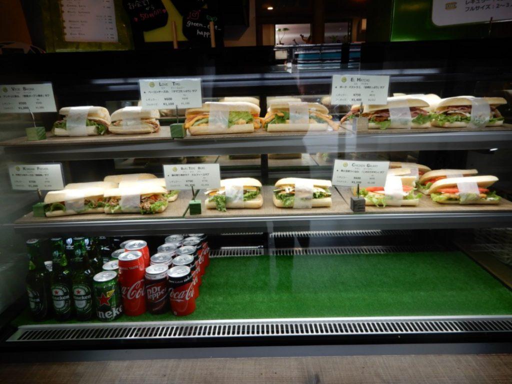 GREEN. サンドイッチ