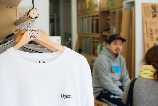 the open.noeザオープンノエのTシャツ
