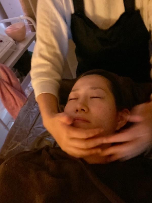 smiley、野江、お顔剃り、美容液