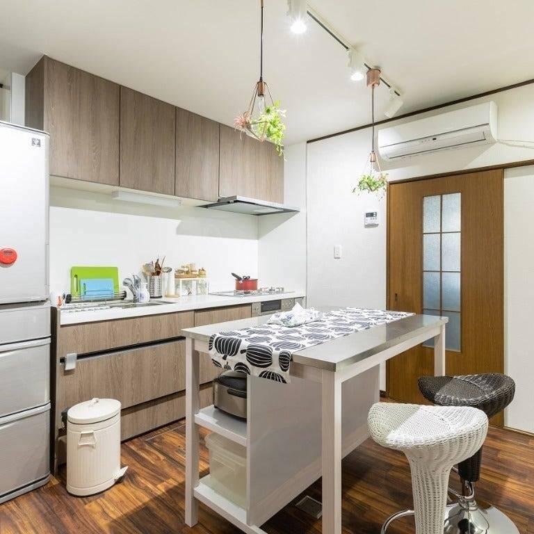 J&M、レンタルスペース、ゲストハウス、部屋、キッチン
