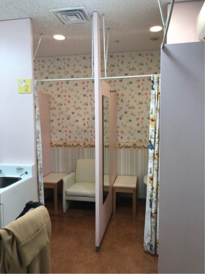 ディアモールの授乳室