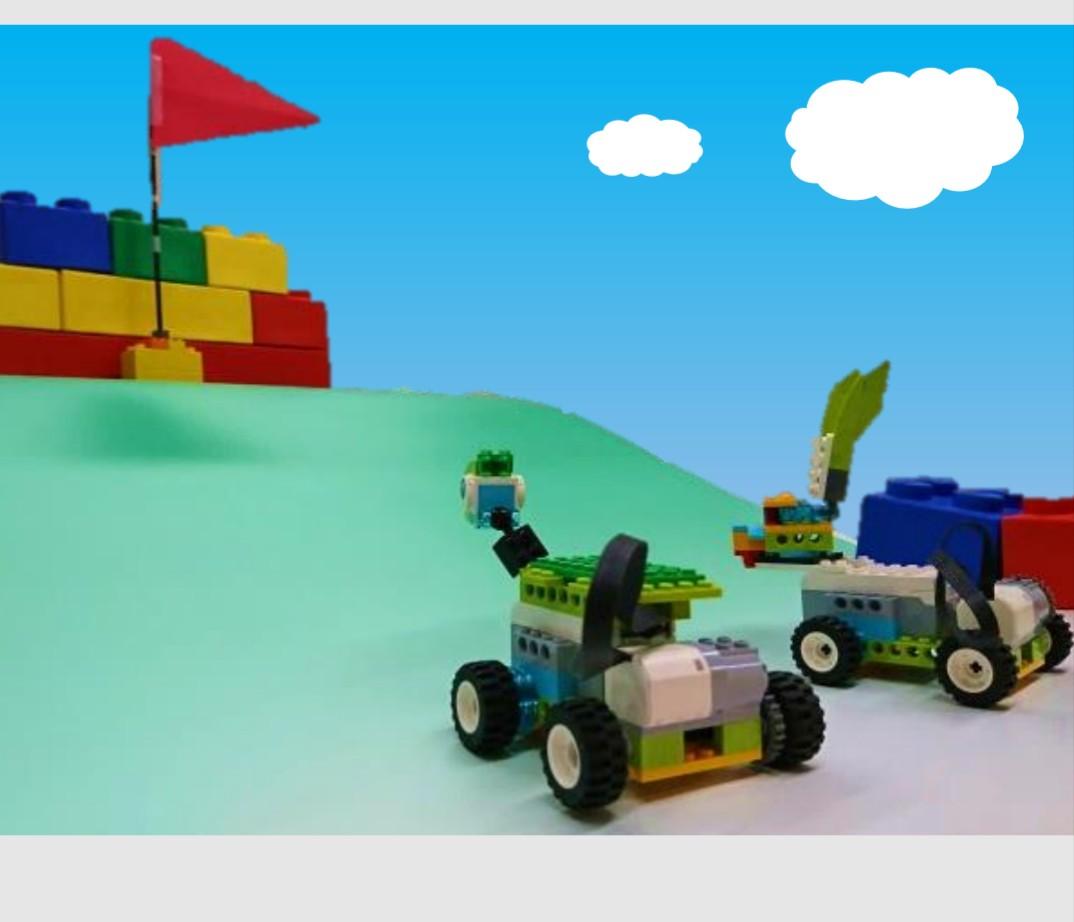 うさぎとかめ クレファス ロボットプログラミング