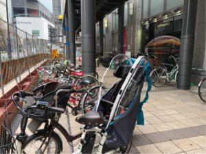 ヨドバシ梅田の駐輪場