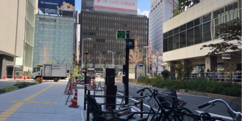梅田の駐輪事情イーマ・ディアモール編