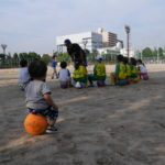 enc、サッカー、今津公園