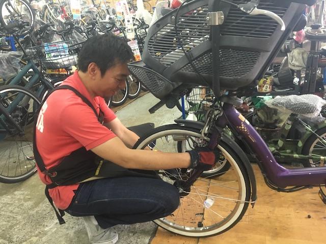 トミタサイクル、修理
