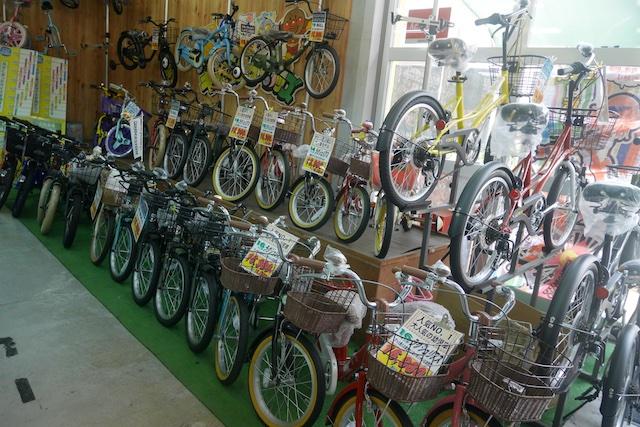 トミタサイクル、子供、自転車