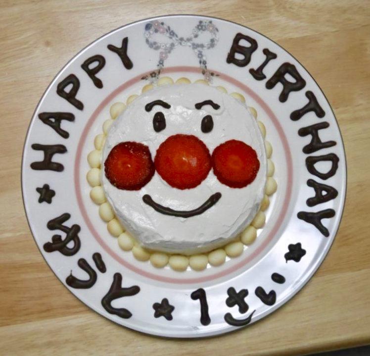 誕生日、ケーキ、せなやん