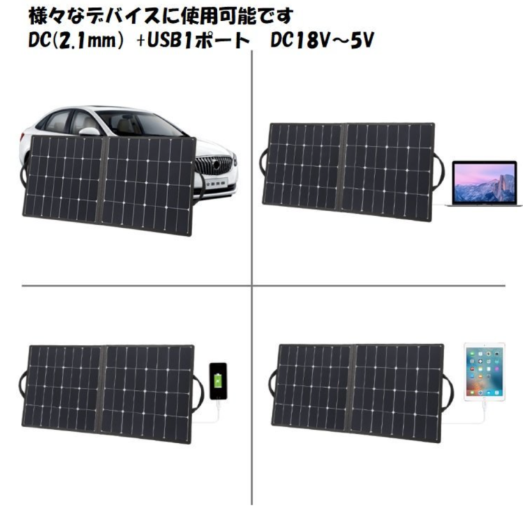 光菱、ソーラーパネルチャージャー