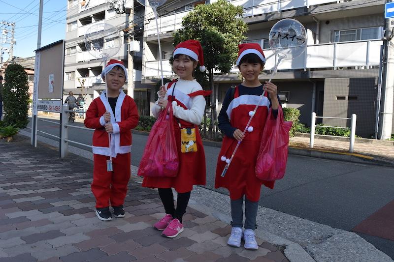 サンタを探せ、鶴見区、イベント、参加者