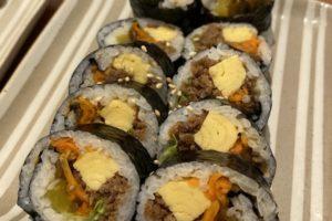 プラス、放出東、韓国料理、キンパ、プルコギ
