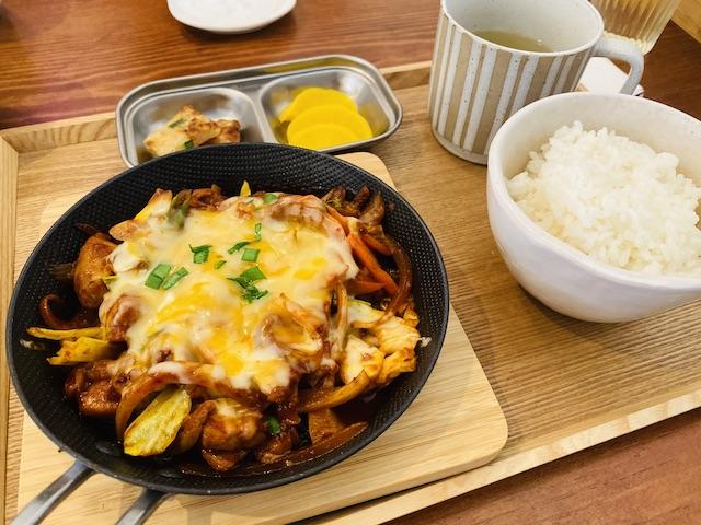 プラス、放出東、韓国料理、外観