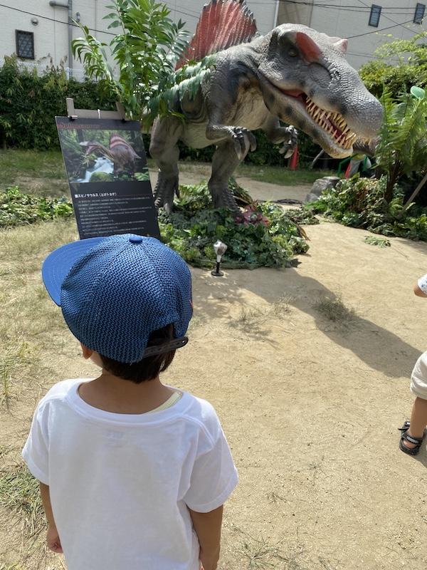 花博住宅展示場、イベント、恐竜