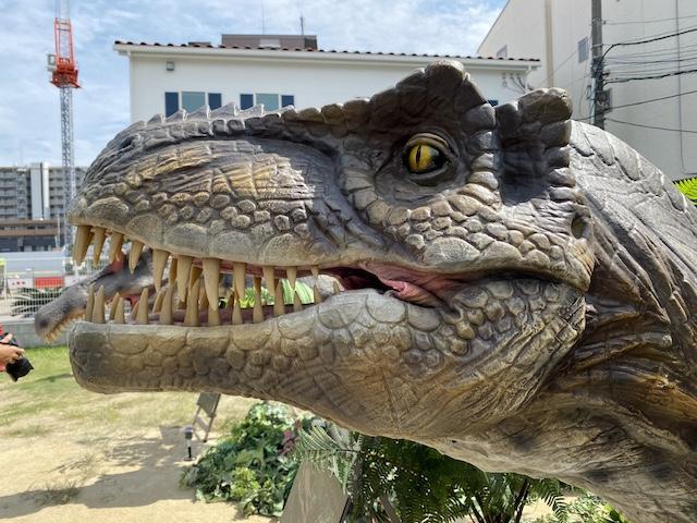 花博住宅展示場、恐竜