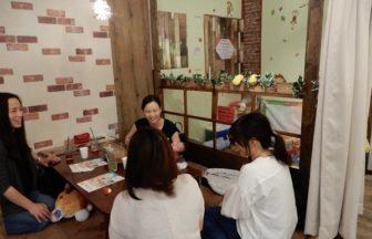 低糖質Cafe&Bar華美での大阪北区ママ友づくり会