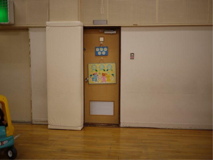 子育てプラザ本庄東の授乳室