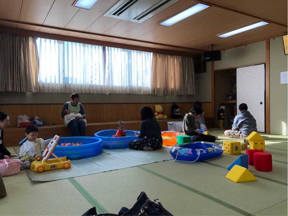 大阪市北区中津の子育てサロンぽっぽクラブ