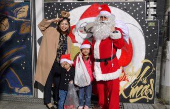 大阪北区のクリスマスイベント サンタを探せin 中津