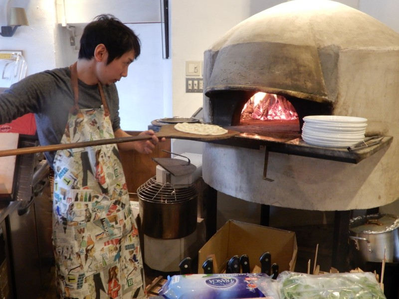 MAKIBI ピザ 窯