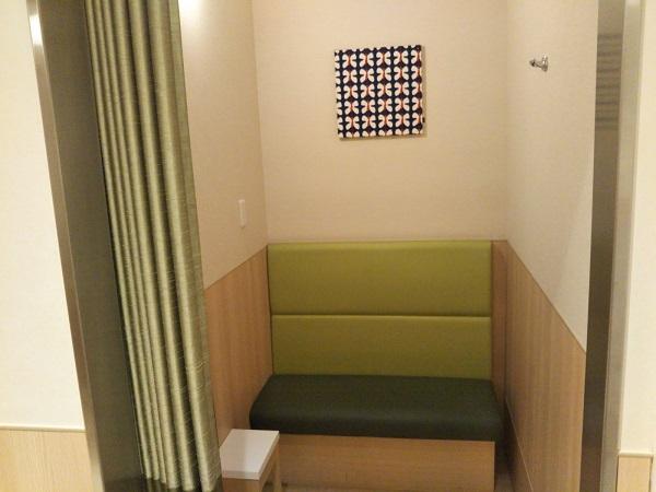 ルクア授乳室
